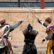 Vaina león para espadas