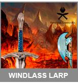 windlass larp distribuidores - Windlass y sus espadas en látex para LARP